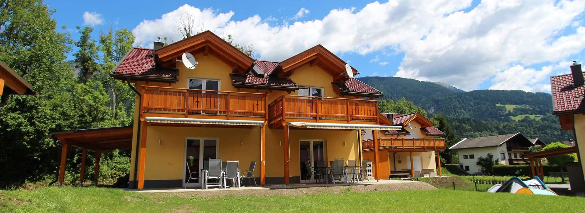 Holiday Villa Carinthia Home Villa Steinbock 650 and Gemse 651